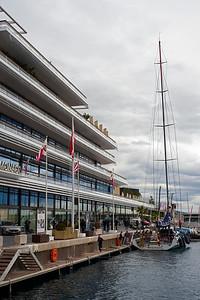 Monaco Yacht Club and Maserati.