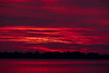 ALTERED DATE MARKER FILE Red and purple skies and water down the Bay of Quinte a few minutes before sunrise 2019 August 7