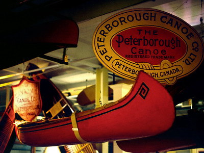 Canadian Canoe Museum, Peterborough, Ontario, 8/04