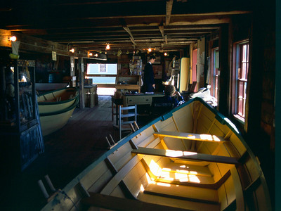 The Dory Shop Museum, Shelburne, Nova Scotia, 8/04