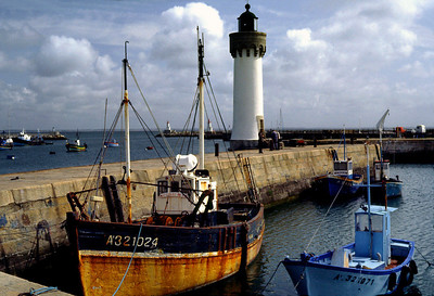 Harbor, Quiberion, France. June, 1983.