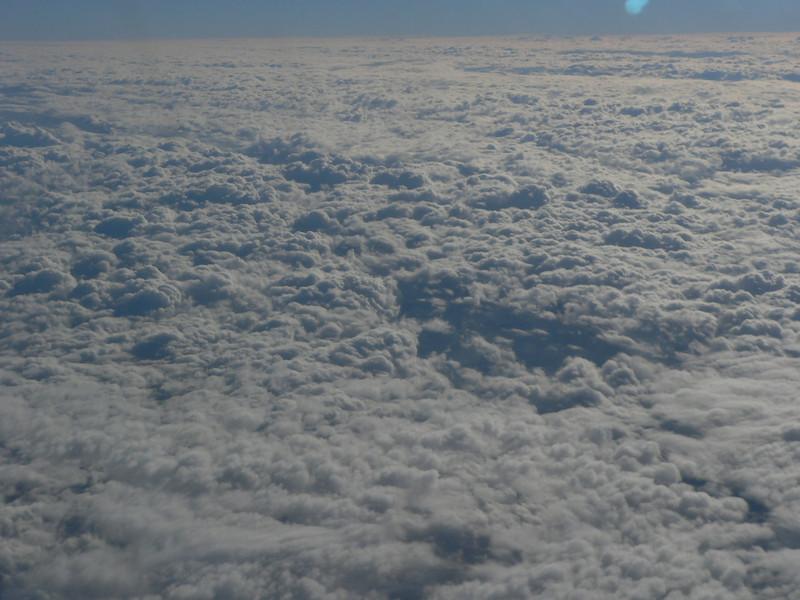 Clouds between Charlotte & Ft Lauderdale