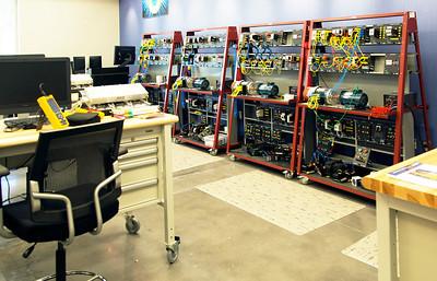 Electric equipment training unit.