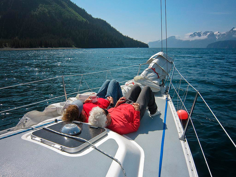 ps_1126  Taking a break in Thumb Cove before sailing our final leg to Seward.