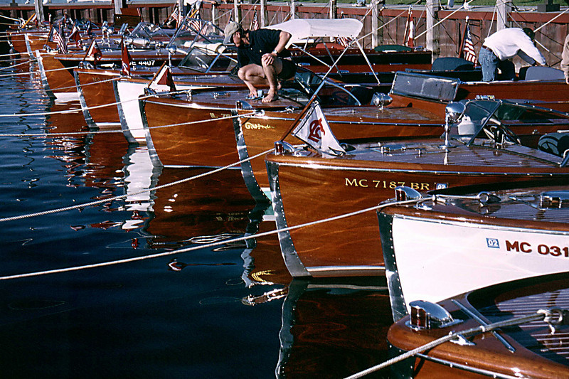 Hessel Antique Wooden Boat Show lineup