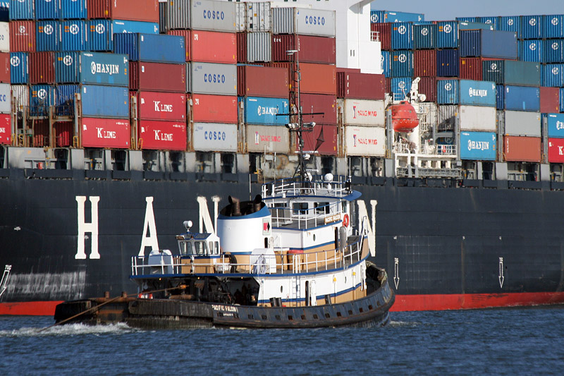 7200128 PACIFIC FALCON | 9115743 HANJIN BERLIN