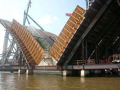 Wilson Bridge construction - 1 Sep 2003