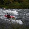 Linda luvs her bouncy boat