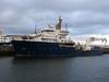 PHAROS in James Watt Dock.<br /> 22nd March 2009