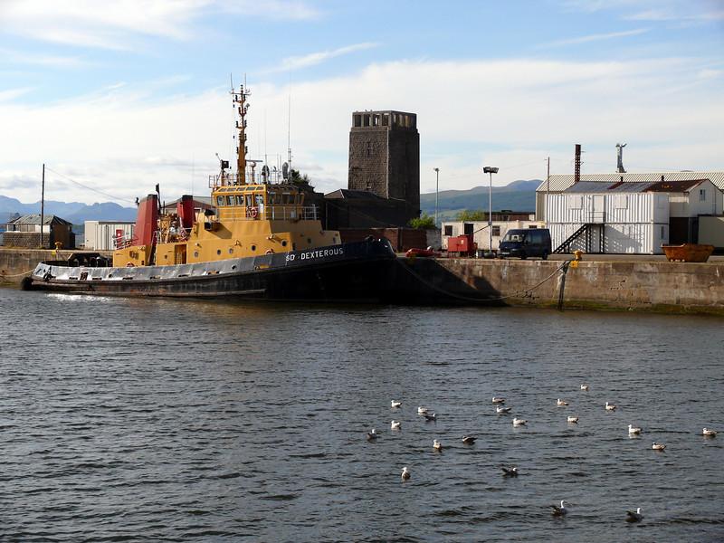 SD Dexterous in James Watt Dock.<br /> 20th June 2010.