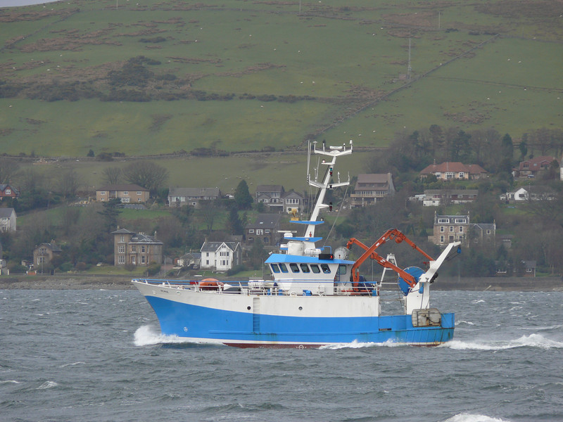 AORA off Gourock.<br /> 8th March 2008