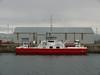 Lough Foyle Ferry Company's FOYLE RAMBLER in James Watt Dock.<br /> 17th May 2009