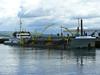 SOSPAN-DAU in Greenock's Victoria Harbour.<br /> 8th July 2008