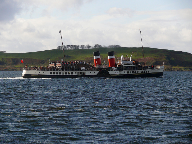P.S Waverley at Largs.<br /> 16th October 2011