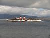 P.S Waverley off Greenock Esplanade.<br /> 16th October 2011