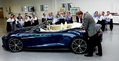 Marek Reichman of Aston Martin explains the design principles behind the Vantage.