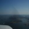 Single Engine Propeller Plane over Hudson River