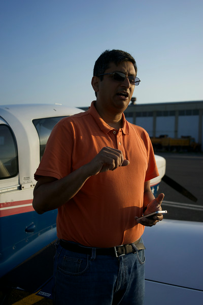 Captain Manoj Sinha: Queen City Airport pre-flight checks