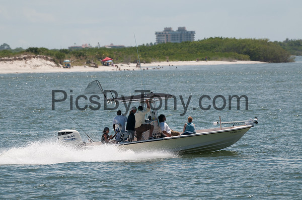 Boating in Ponce Inlet, FL on Sep. 11. 2016