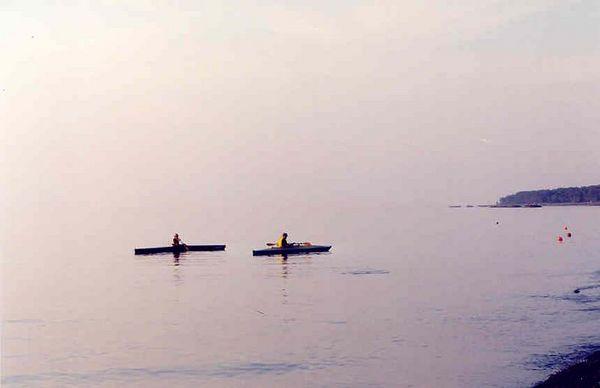 Presque Isle kayaking & camping
