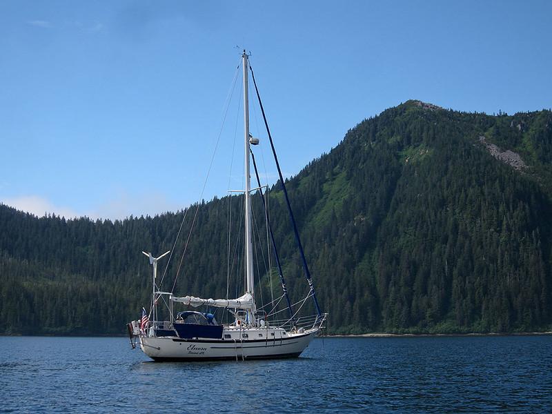img_2274  Elnora anchored in Fox Farm Bay (N59 57.9  W148 09.66).