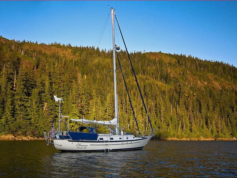 img_2293  Elnora in Squire Island Cove (N60 14.6 W147 56.52)