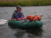 Trying out my NRS packraft