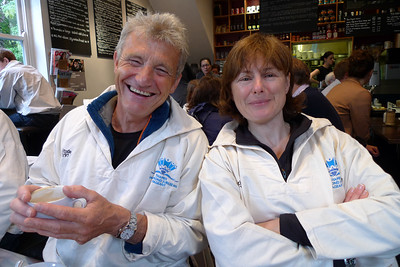 Paul Rose and Caroline Pindar.
