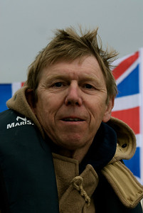 Introducing the Gratitude's crew: The skipper: Alan Richmond.