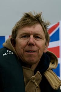 Introducing the Gratitude's crew: The skipper: Alan Richmond.