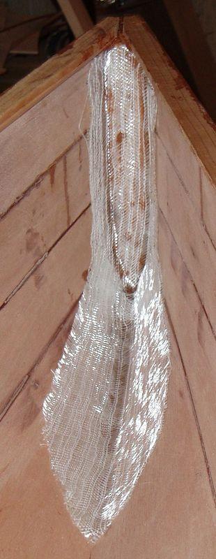 Stern biax cloth layup.