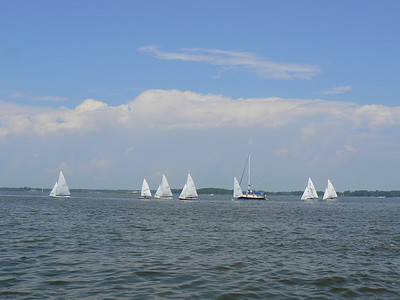 Big sky country on the Chesapeake Bay.