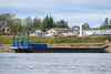 Barge in Moosonee.