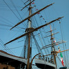 Enormous masts...