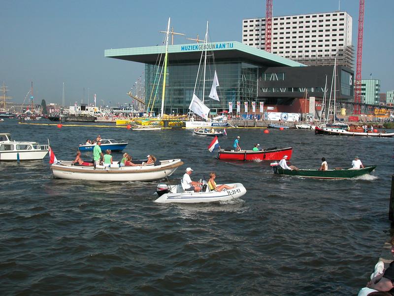 """The recently opened """"Muziekgebouw aan 't IJ"""""""