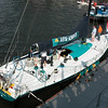 ABN Amro sailing boat. <br /> A very modern racingship...