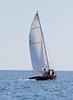 Santa Maria, #7 Small Point One Design sailboat, photograph, image, photography, Vacationland, sailing race, Small Point Sailing Club