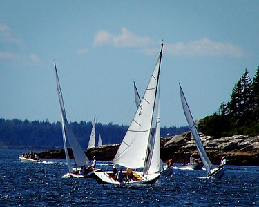 "#4 ""Ceci"" ,photograph, image, photography, Vacationland, sailing race, Small Point Sailing Club"