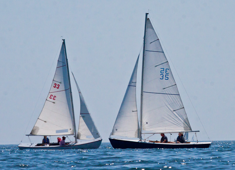 Starling Burgess One Class sail boats, Small Point Phippsburg, Maine ,photograph, image, photography, Vacationland, sailing race, Small Point Sailing Club