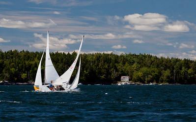 ,photograph, image, photography, Vacationland, sailing race, Small Point Sailing Club