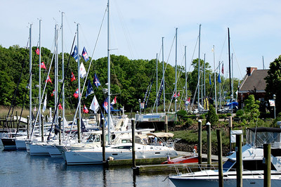 SailQuest 2012 - Milford Landing - Over 30 boats, ranging in size from 20' to 55' - something for everyone to get out and enjoy the water.