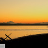 Mt. Baker and sailboat at sunrise - 81