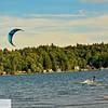 Kite surfer - Belfair State Park - 70