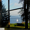 Sailboat from a park - 45