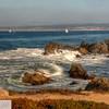 Sailboat on Monterey Bay - 94