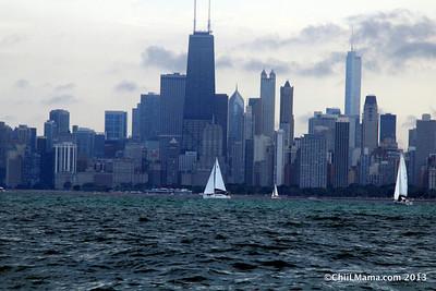 Sailing Labor Day 2013