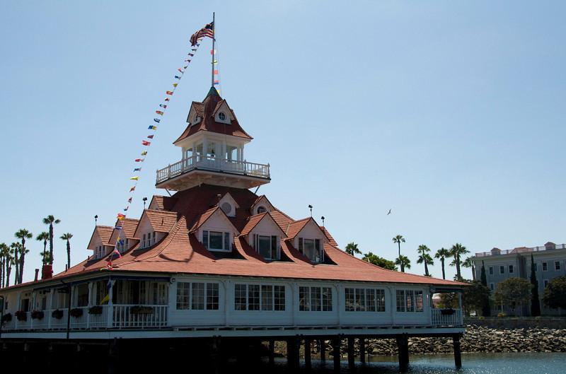 Coronardo Island - Boat House - 1887