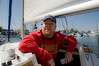 Greg Hay preparing for a fun couple of hours of sailing