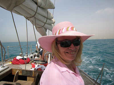 Sailing on the Arabian Gulf