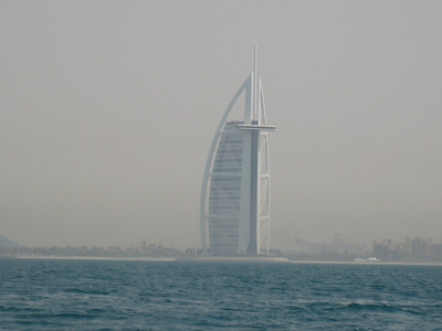 A view of the 'other side' of the Burj al Arab.